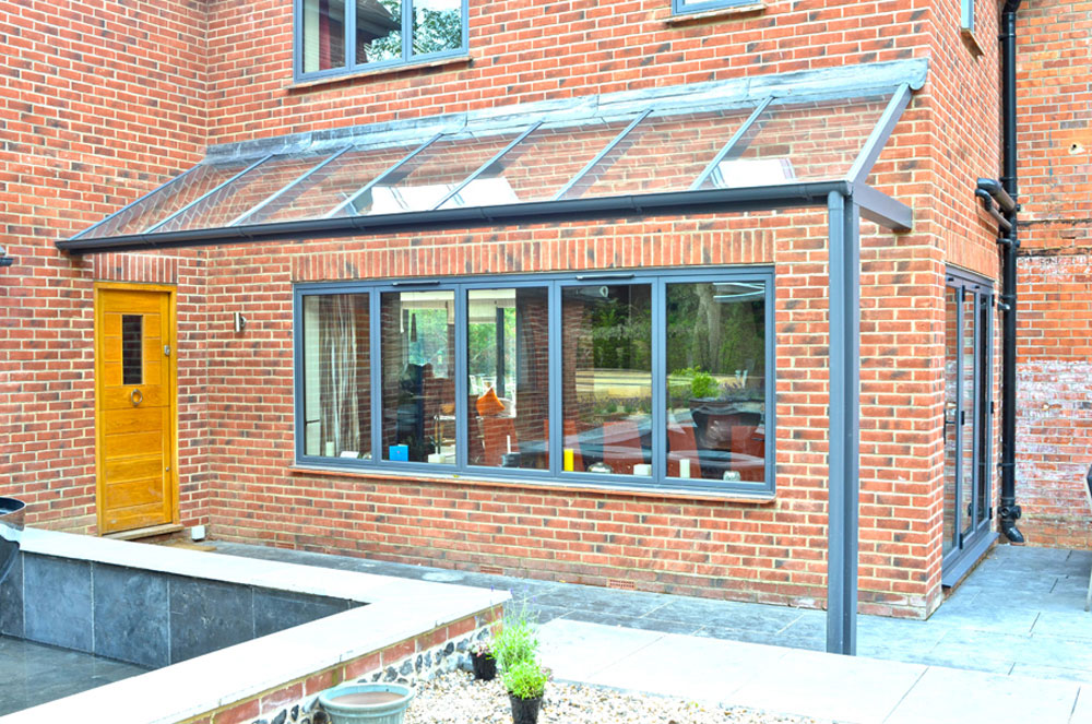Nicholas bolt precision steel and glass pergola - Glas pergola ...